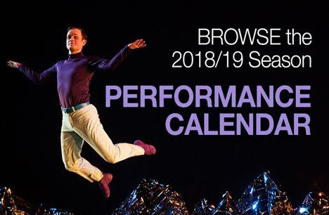 Browse the 2018/19 Performance Calendar