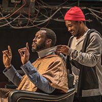Barber Shop Chronicles; A Fuel, National Theatre, and West Yorkshire Playhouse co-production