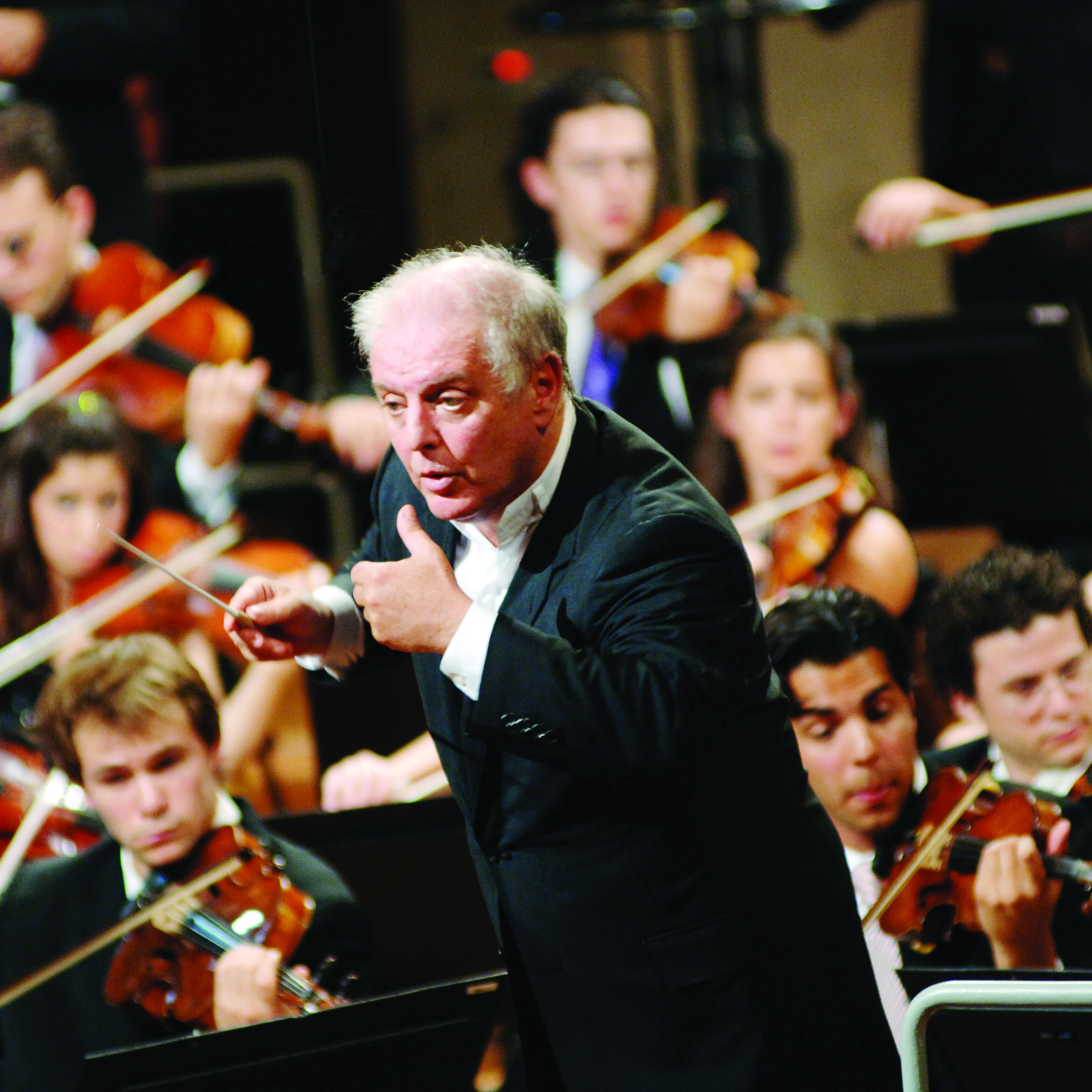 Daniel Barenboim and the West-Eastern Divan Orchestra